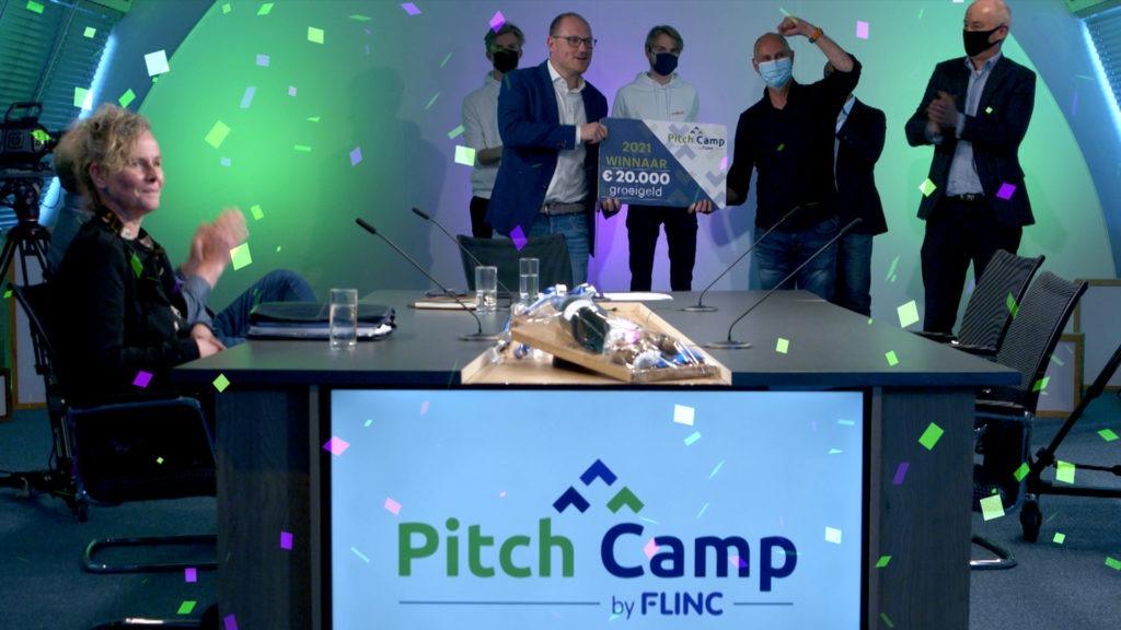 Indiveo winnaar Flinc Pitch Camp 2021